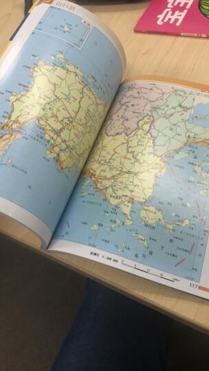 世界分国系列地图册:韩国地图册 晒单图