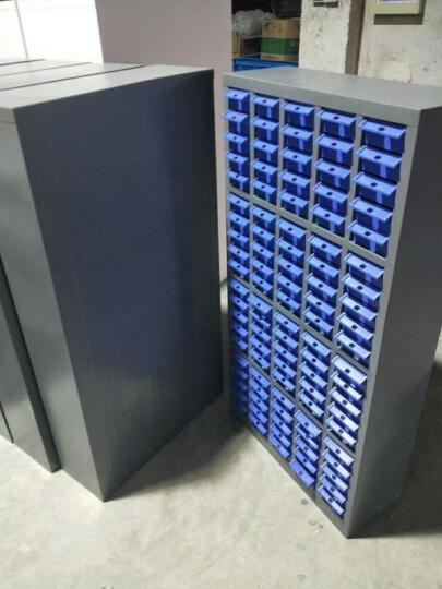 中伟零件柜文件整理电子元器件柜零件盒收纳箱螺丝盒元件盒48抽蓝色 晒单图