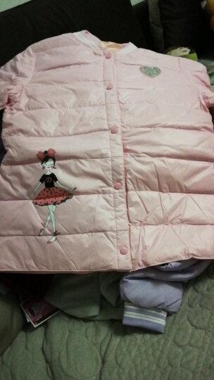 南极人 儿童羽绒服秋冬新款女童羽绒内胆青少年中大童羽绒上衣 粉红色(单件) 170尺码适合身高1米6左右 晒单图