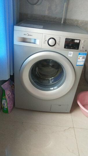 美的(Midea)滚筒洗衣机全自动 8公斤 健康抑菌防护 静音变频 95℃筒自洁 15分钟快洗 MG80V50DS5 晒单图