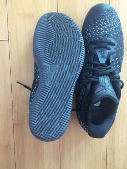 NIKE耐克男鞋训练运动鞋2019春季新款KOBE科比缓震低帮实战耐磨篮球鞋AV3556-003 922484-006  KOBE AD科比12黑色 44.5 晒单图