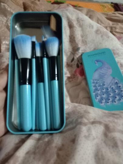 12支化妆套刷桶组合 化妆刷子初学便携化妆刷筒套装专业工具铁盒 12只湖蓝色化妆刷套装 晒单图