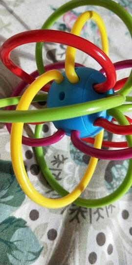 贝恩施(beiens)宝宝牙胶曼哈顿手抓球  婴儿牙胶磨牙棒益智玩具0-1岁B263 晒单图