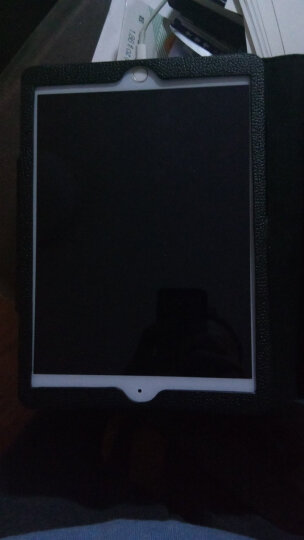 黑啾  新款ipad air2保护套无线蓝牙键盘mini2/3/4/pro9.7/12.9平板保护壳 air/air2/pro9.7/新ipad黑色 晒单图