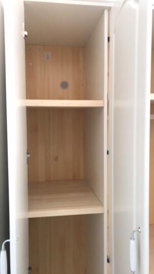 A家 家具 衣柜衣橱两门三门木质韩式田园白色卧室整体大衣柜 4门衣柜 白色 晒单图