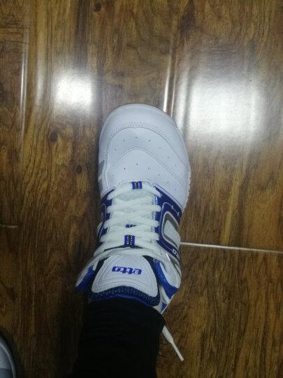 英途(etto) 耐磨皮革缓震鞋底男女款专业排球鞋VS801 蓝色 41 晒单图