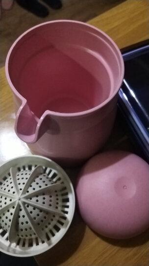 美之扣 手动榨汁机 橙汁橙子器简易迷你原汁果汁家用柠檬榨汁杯粉色 晒单图