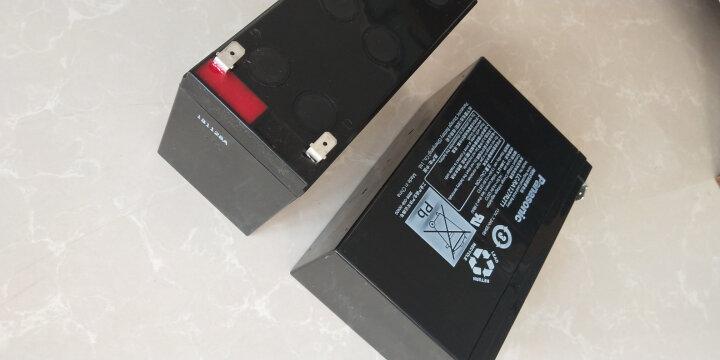 松下(panasonic) 松下铅酸免维护蓄电池LC-RA127R2T1 12V7.2AH 晒单图