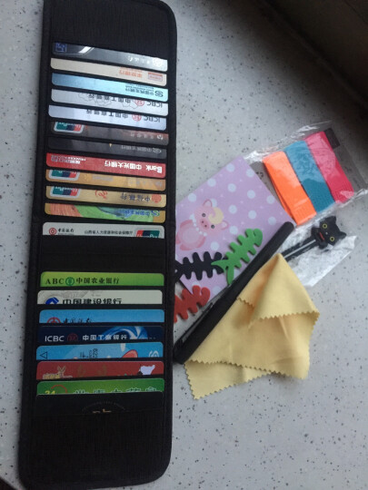 DIGIBAG银行卡包男士 信拥卡套卡夹超薄大容量多卡位韩版国长款女式小巧短简约布艺便携 翡翠色 22卡 晒单图