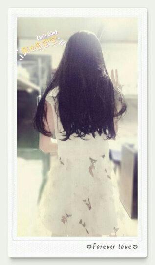 SexeMara连衣裙2018春夏季新款女装韩版修身雪纺蕾丝连衣裙子666 白花裙 M(100斤) 晒单图