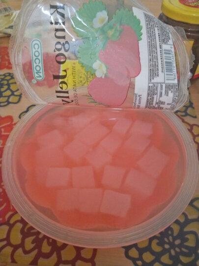 马来西亚进口 可尼斯CorNiche蓝莓味椰果果冻布丁 大杯碗装 休闲零食410g 晒单图