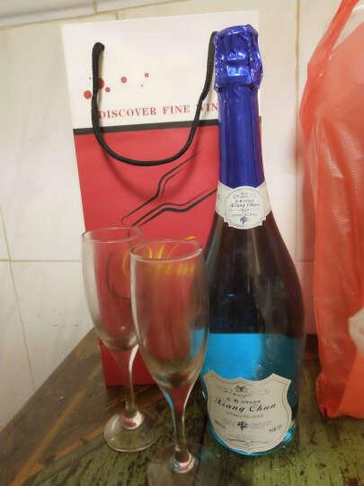 【赠送2个香槟杯+礼袋】 香醇奥斯曼 起泡酒 女士喜爱红酒 气泡酒葡萄酒 750ml 蓝莓味 晒单图