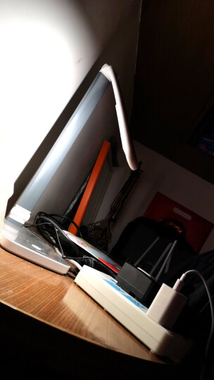 飞利浦 (PHILIPS) LED台灯 工作学习卧室床头灯 五档触摸调光黑色 晶璨 晒单图