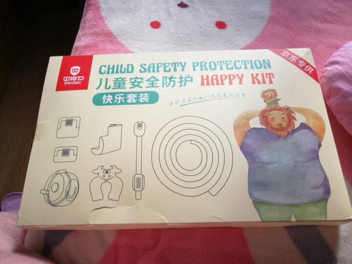 贝得力 礼盒套装 宝宝海绵泡沫防撞条防撞角家用环保无毒加厚加大婴儿幼儿新生桌椅门卡冰箱安全锁插座保护盖 晒单图