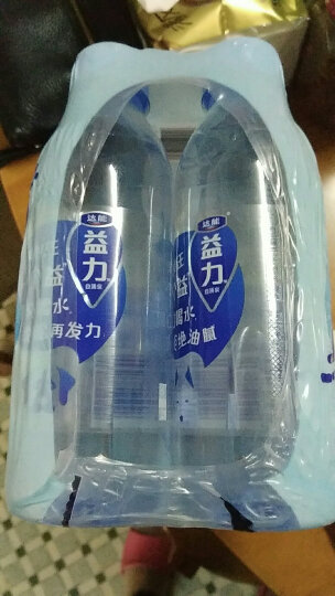 达能益力 饮用天然矿泉水 370ml*6瓶 连包装 晒单图