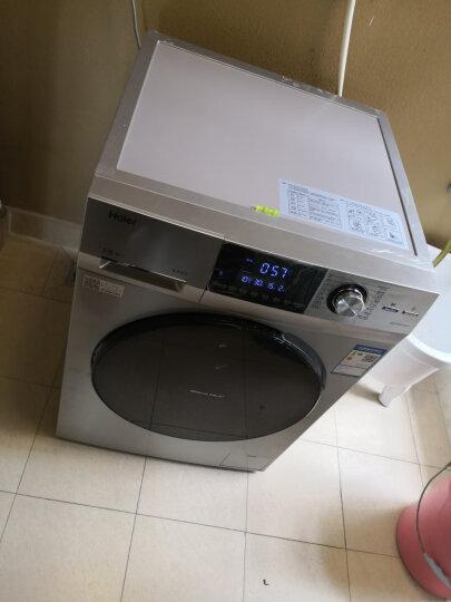 海尔(Haier)水晶 纤维级防皱烘干 9公斤洗烘一体斐雪派克直驱变频滚筒洗衣机 EG9014HBDX59SU1 晒单图