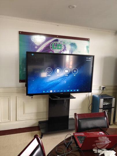 飞利浦(PHILIPS)会议平板显示器触摸教学一体机电子白板无线投影仪会议白板 65英寸BDL6530QT 含移动支架+Win10双系(I5 4G 120G) 晒单图