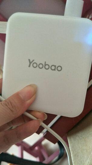 羽博(Yoobao)YB-6024 10000毫安移动电源双向快充迷你便携式手机充电宝苹果华为小米等 【LUCKY】双输出—送LED灯 2件套(充电宝+羽博2.1A快充充电器) 晒单图