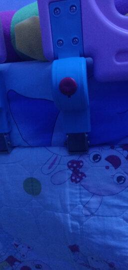 十二色童话(SHIERSETONGHUA) 床围栏婴儿童宝宝防夹手摔掉床护栏挡板 蓝色90cm两片装 床垫厚度18-22cm 晒单图