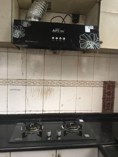 尊威(JOUE)家用超薄油烟机 中式吸抽油烟机 升级国标版+出租房经济套装+液化气 国标标准京东上门安装 晒单图