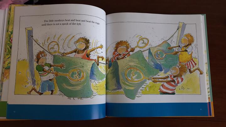 Five Little Monkeys Storybook Treasury  五只小猴子 英文原版 晒单图