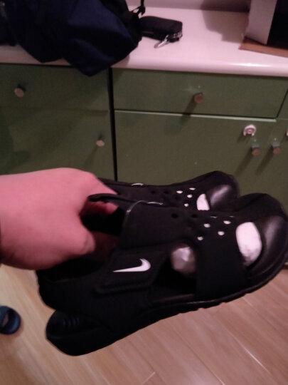 耐克童鞋Nike 儿童凉鞋 男女童沙滩包头凉鞋 灰/荧光黄(5-10岁)903631-002 3Y/35码/脚长22cm 晒单图