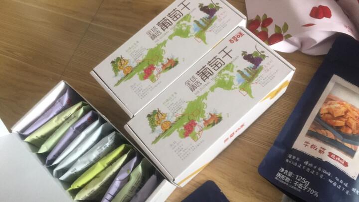 百草味 全球精选葡萄干200g/袋 提子干休闲零食新疆特产蜜饯果干小包装免洗 晒单图