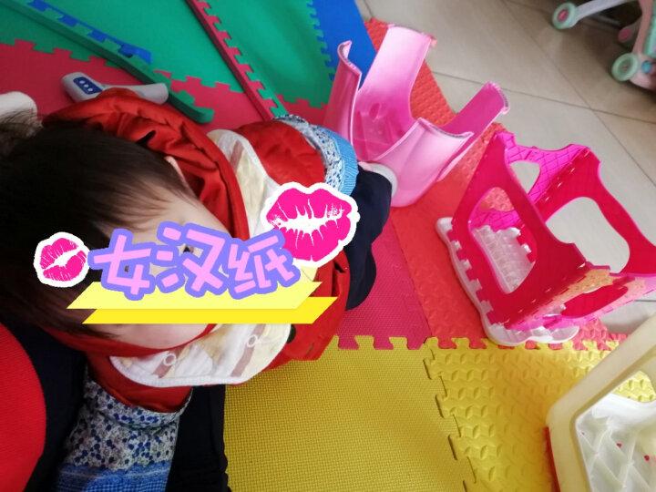 明德Meitoku 纯色十字纹拼接地垫 加厚2.0cmPE泡沫地垫 婴儿爬行垫子 儿童拼接地垫60*90cm(4片装) 晒单图