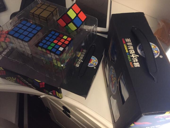 圣手3阶魔方方圆三阶魔方比赛专用益智减压玩具顺滑送教程礼盒装专业版 黑色 晒单图