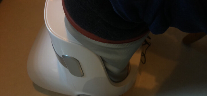 迪斯(Desleep) 美国品牌足疗机 腿部按摩器 F16 足部脚底按摩仪美腿机 魅力银 晒单图