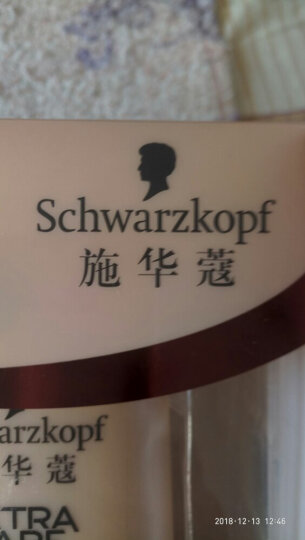 施华蔻(Schwarzkopf)多效修护19精油套装(洗发水400ml+护发素400ml+精油75ml)(新老包装随机) 晒单图