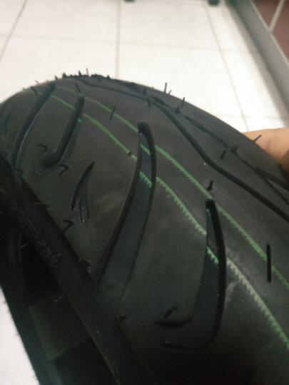 千里马电动车3.00-10钢丝真空轮胎300-10踏板车3.50-10 【防爆胎】3.00-10花纹599真空6层送气嘴 晒单图