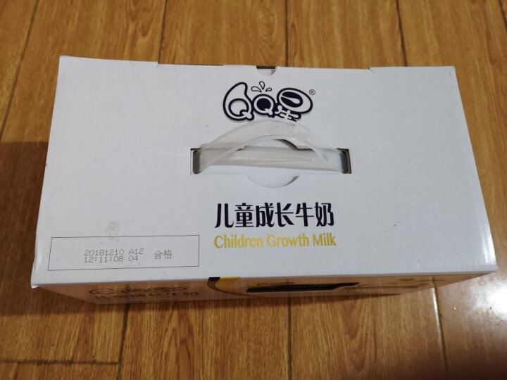 伊利 QQ星儿童成长牛奶(健固型)190ml*15盒-(新老包装随机发货) 晒单图