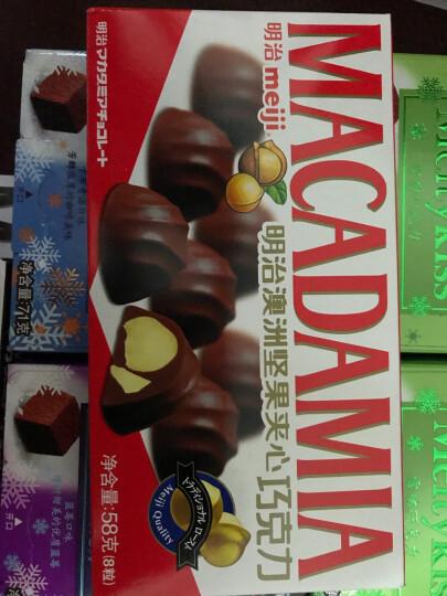 明治(Meiji)澳洲坚果夹心巧克力 58g 晒单图