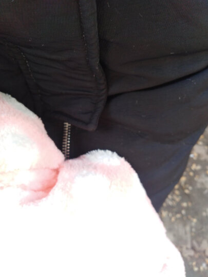 三利 雪绒超柔蝴蝶结抹胸式浴巾套装 浴裙+浴帽 波点-淡粉色 晒单图