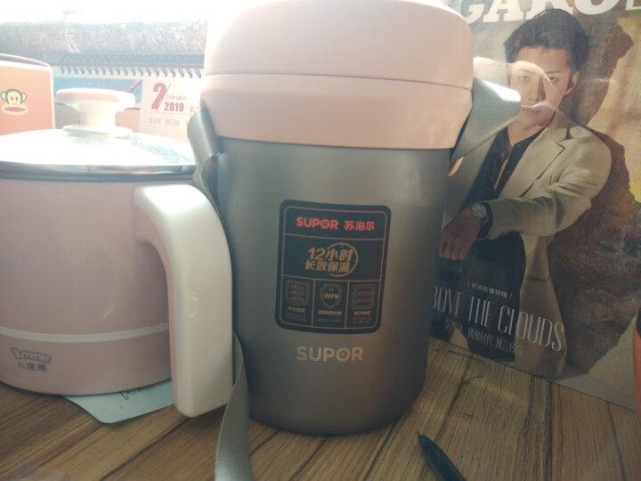 苏泊尔(SUPOR) 保温饭盒三层保温桶 304不锈钢真空保温提锅 学生成人 长效保温2.0L 晒单图