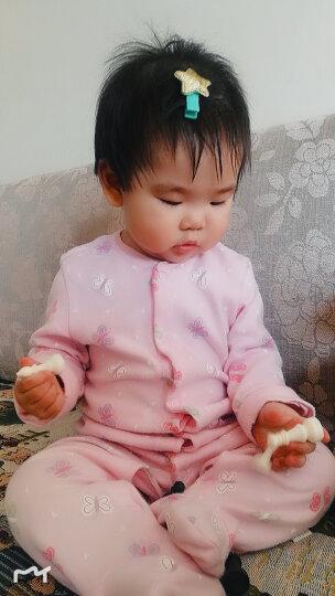 希伊莎1-3-6-9儿童发夹韩国发饰女童边夹公主宝宝发卡子小女孩套装头饰品 5#藏青色十件套 晒单图