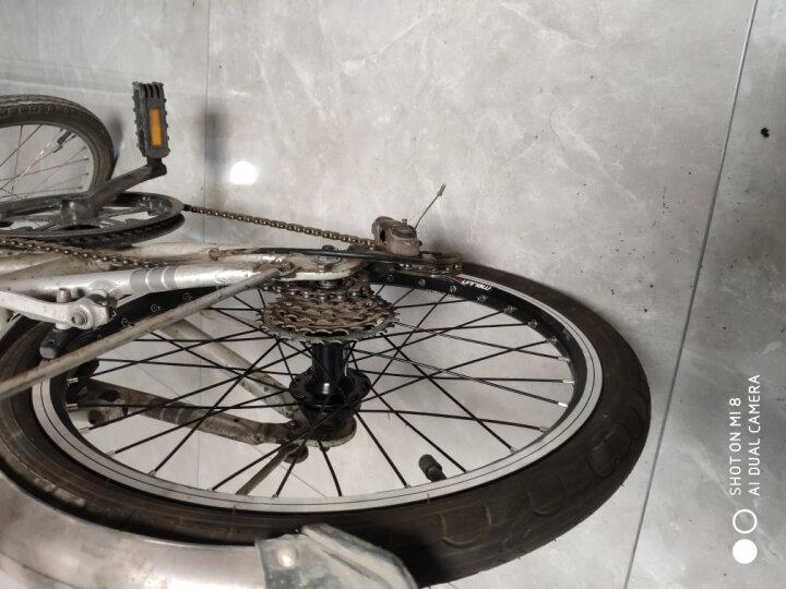 魅驹(MEIJUN) MEIJUN魅驹20寸26寸旋飞轮组7速21速V碟刹山地自行车轮毂 快拆式-26寸纯碟(前轮) 晒单图