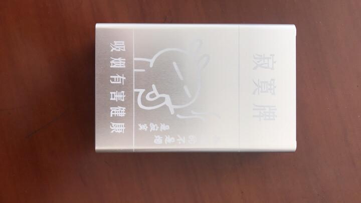 香烟烟盒20支装 寂寞牌男女个性收纳防潮烟盒 自动滑盖金属烟盒 烟具 创意礼品礼物 银色 晒单图
