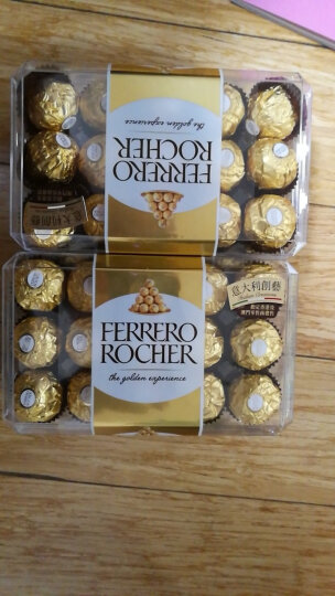 进口费列罗(Ferrero Rocher)巧克力金莎榛仁糖果婚庆喜糖果年货节  节日送礼 高端DIY创意七夕礼盒(一生一世) 晒单图