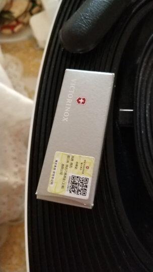 维氏(VICTORINOX)瑞士军刀  典范58mm(7种功能) 便携瑞士军士刀多功能刀折叠刀小刀具 迷彩色0.6223.94 晒单图