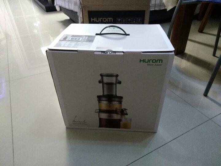 惠人(HUROM)HUZK2700WN 三代升级款 原汁机家用低速榨汁机 晒单图