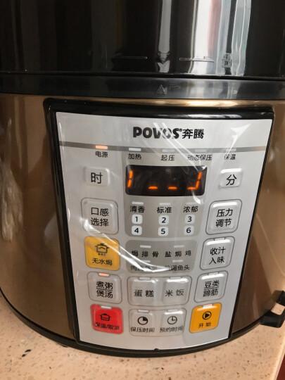 奔腾(POVOS)电压力锅高压锅一锅双胆无水焗高压电饭锅5L LN5151 晒单图