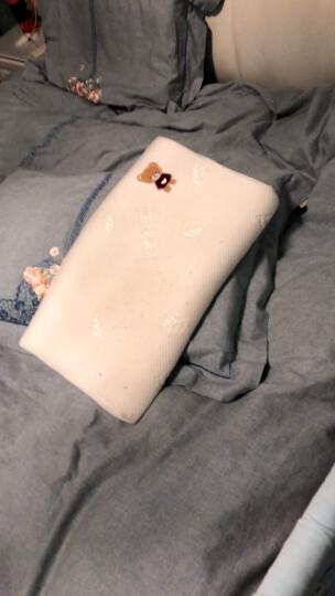 LOVO罗莱生活出品 儿童有机棉经典乳胶枕35*50cm 晒单图