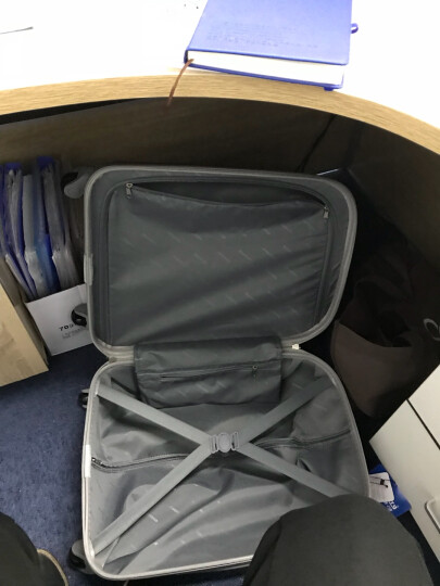 泊客行者Blomberg糖果色拉杆箱20英寸ABS材质可登机6454银粉红 晒单图