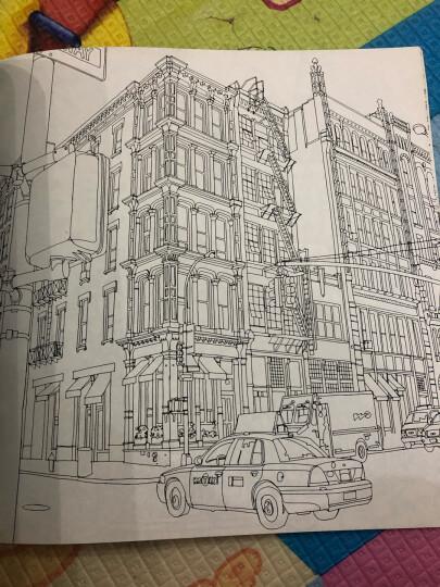 秘密花园涂绘学院丛书:城市漫步 晒单图
