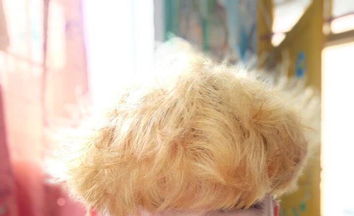 萡素 灰色染发剂植物染发膏闷青色染发霜色彩头发打蜡膏纯无刺激天然纯蜂蜜茶青木亚麻灰焗油染膏黑茶色 锁色蜡 晒单图