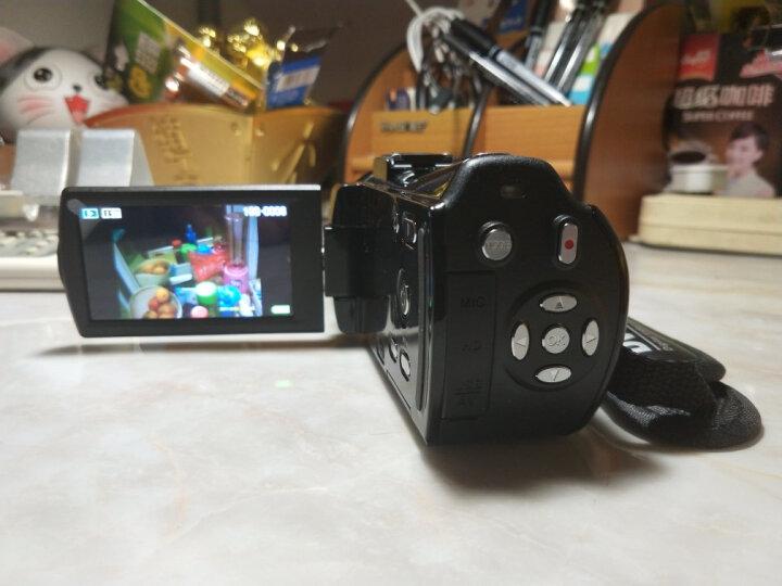 进口欧达升级V7摄像机高清专业数码dv一体机旅游家用2400万全镜像素红外夜摄16倍变焦增强6轴防抖 京东送货+标配送大礼包 晒单图