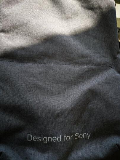索尼(SONY)原装数码相机包 微单相机包LBI-1807GRAYBAG 简约双肩包 晒单图