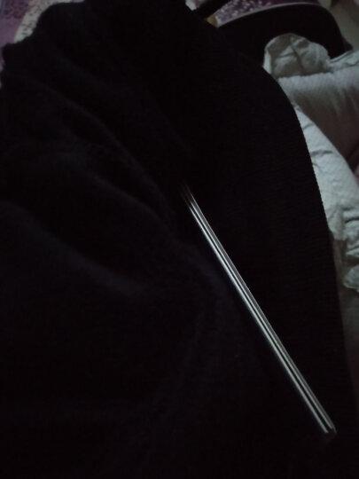 吉普JEEP 加绒裤男秋冬加厚保暖卫裤运动裤装收脚运动裤松紧腰卫裤 宝蓝色 XL 晒单图
